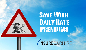 Credit Hire Insurance Daily Rate Premium Image